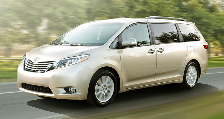 Toyota Sienna Review & Test Drive
